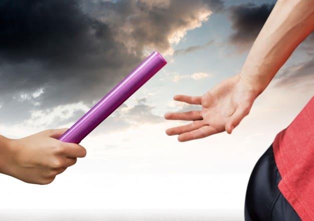 processo de passagem de bastão entre marketing e vendas